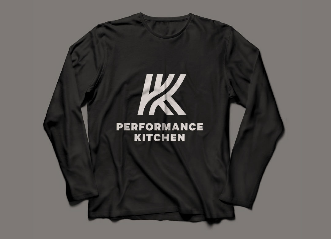 Brand identity design for Performance Kitchen
