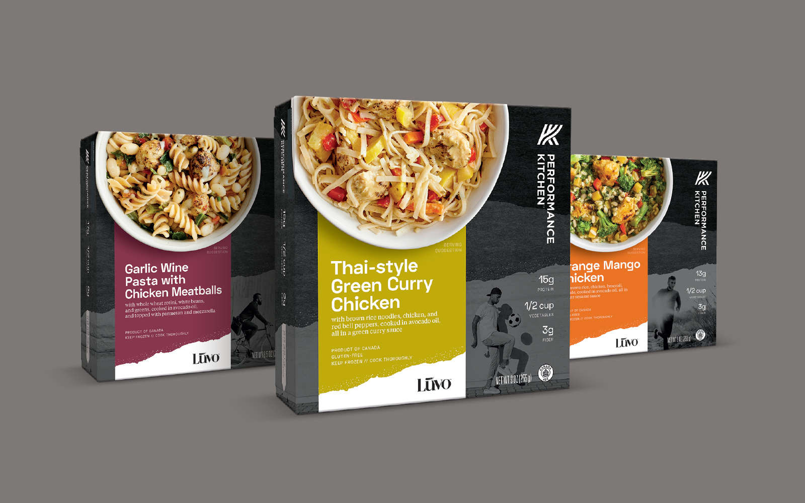 Creative Direction and packaging design for Performance Kitchen